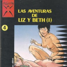 Cómics: COMIC PARA ADULTOS LA CUPULA LAS AVENTURAS DE LIZ Y BETH (I) Nº 4. Lote 100746507