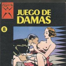 Cómics: COMIC PARA ADULTOS LA CUPULA JUEGOS DE DAMAS Nº 8. Lote 100747927