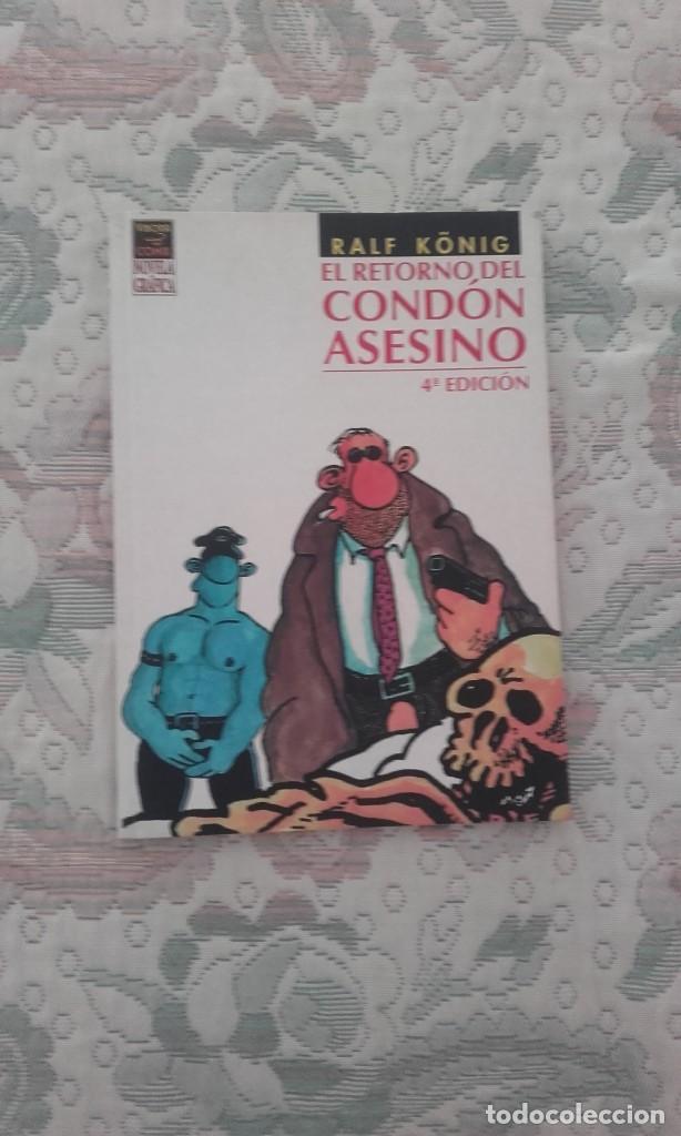 EL RETORNO DEL CONDON ASESINO, DE RALF KÖNIG (EL VIBORA NOVELA GRAFICA) (Tebeos y Comics - La Cúpula - Comic Europeo)