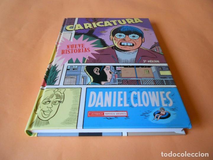CARICATURA DE DANIEL CLOWES. TAPA DURA. IMPECABLE (Tebeos y Comics - La Cúpula - Comic USA)