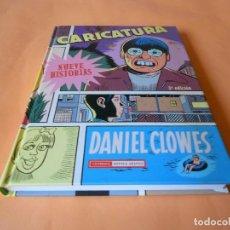 Cómics: CARICATURA DE DANIEL CLOWES. TAPA DURA. IMPECABLE. Lote 103579439