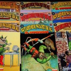 Cómics: WONDER WART-HOG : EL SUPERSERDO (DE GILBERT SHELTO ). -COMPLETA EN 9 EJEMPLARES-(TODO LO PUBLICADO) . Lote 103829891