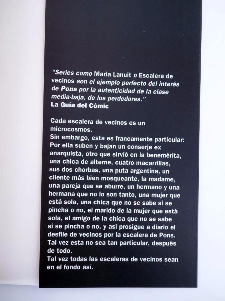 Cómics: ESCALERA DE VECINOS (Pons) La Cúpula, 2004. OFRT antes 6,95E - Foto 7 - 233355340