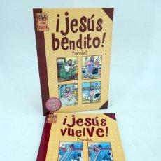 Comics : BRUT COMIX. JESUS BENDITO + JESÚS VUELVE (TRONCHET) LA CÚPULA, 2005. OFRT ANTES 7E. Lote 208188117