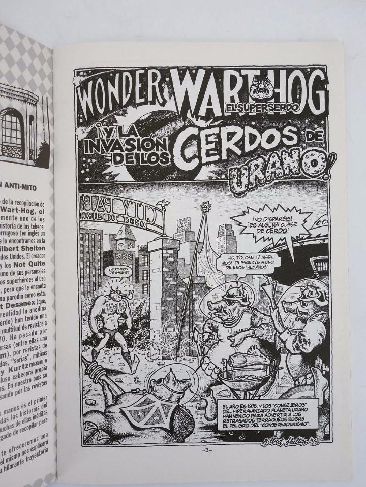 Cómics: SUPERSERDO 1 AL 9. COMPLETA. WONDER WART HOG (Gilbert Shelton) La Cúpula, 2001. OFRT antes 21,05E - Foto 4 - 247260370