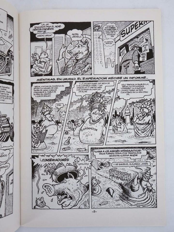 Cómics: SUPERSERDO 1 AL 9. COMPLETA. WONDER WART HOG (Gilbert Shelton) La Cúpula, 2001. OFRT antes 21,05E - Foto 5 - 247260370
