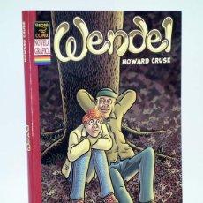 Cómics: WENDEL NOVELA GRAFICA (HOWARD CRUSE) LA CÚPULA, 2004. OFRT ANTES 8,95E. Lote 138980912