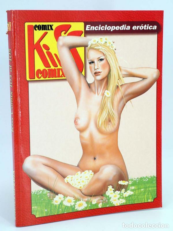 ENCICLOPEDIA KISS COMIX RETAPADO NºS 103, 104, 105 (VVAA) LA CÚPULA, 2000. OFRT ANTES 5,95E (Tebeos y Comics - La Cúpula - Autores Españoles)