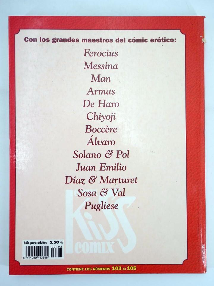 Cómics: ENCICLOPEDIA KISS COMIX RETAPADO NºS 103, 104, 105 (Vvaa) La Cúpula, 2000. OFRT antes 5,95E - Foto 2 - 129277638
