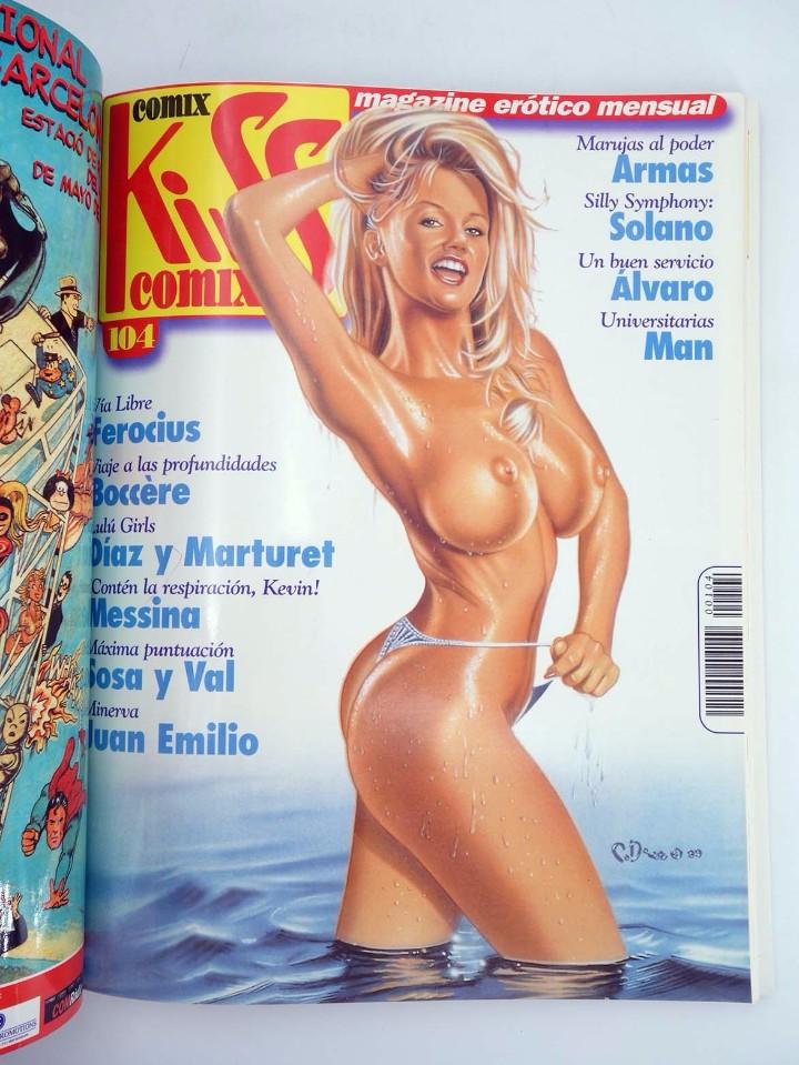 Cómics: ENCICLOPEDIA KISS COMIX RETAPADO NºS 103, 104, 105 (Vvaa) La Cúpula, 2000. OFRT antes 5,95E - Foto 3 - 129277638