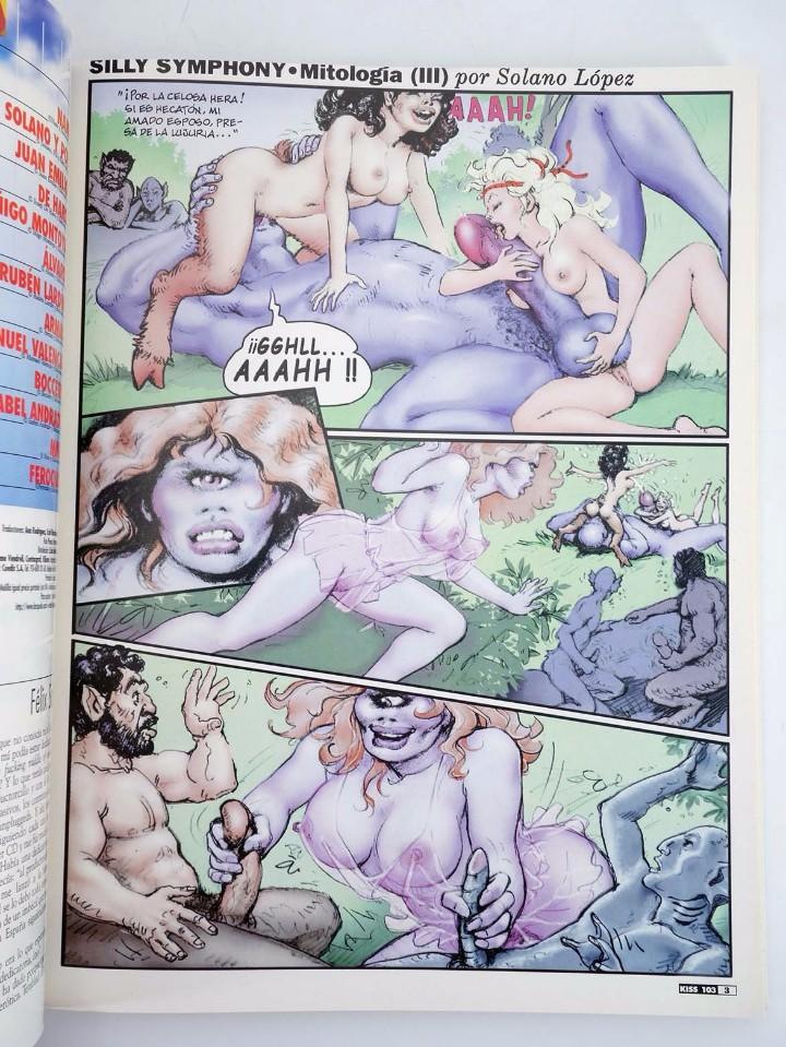 Cómics: ENCICLOPEDIA KISS COMIX RETAPADO NºS 103, 104, 105 (Vvaa) La Cúpula, 2000. OFRT antes 5,95E - Foto 5 - 129277638
