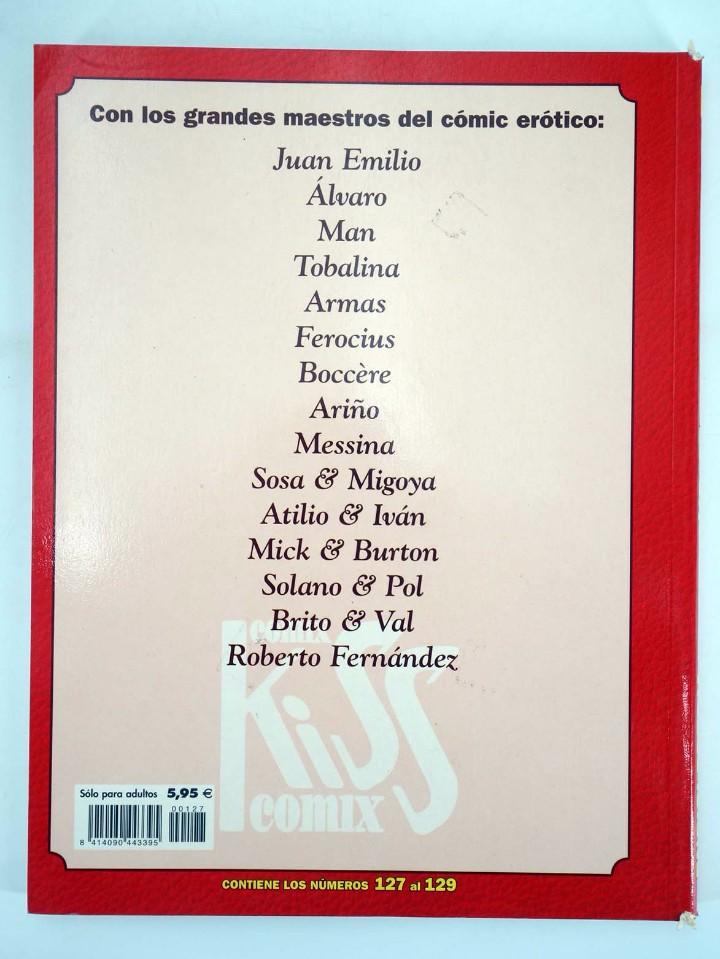 Cómics: ENCICLOPEDIA KISS COMIX RETAPADO NºS 127, 128, 129 (Vvaa) La Cúpula, 2002. OFRT antes 5,95E - Foto 2 - 123632460