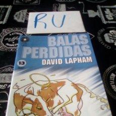 Cómics: BALAS PERDIDAS 13. Lote 154333017
