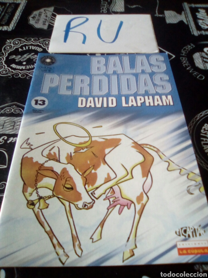 COMIC BALAS PERDIDAS 13 DAVID LAPHAM (Tebeos y Comics - La Cúpula - Comic Europeo)