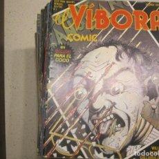 Cómics: 50 PRIMEROS NUMEROS EL VIBORA. Lote 104910335