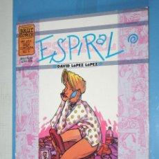 Cómics: LA CONCHA AZUL *** ESPIRAL (COLECCION BRUT COMIX Nº 1) *** EDICIONES LA CÚPULA (1998). Lote 104968979