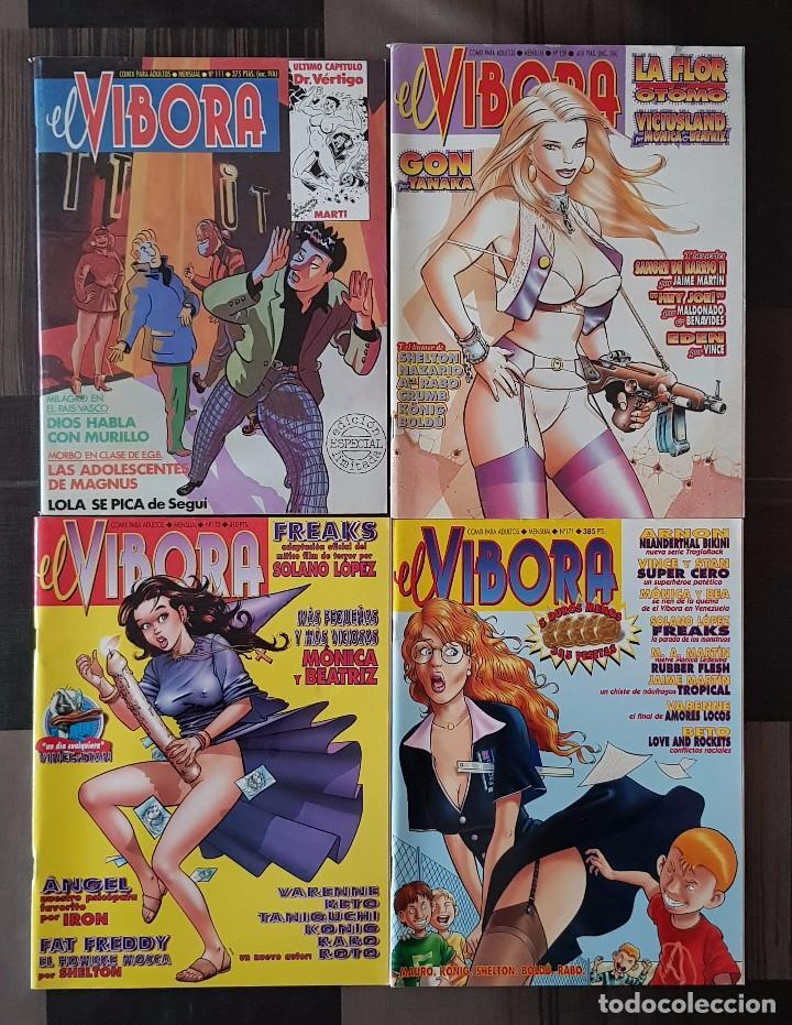 EL VIBORA. LOTE DE 4 NUMEROS (111, 159, 170 Y 171) EDICIONES LA CUPULA 1989 (Tebeos y Comics - La Cúpula - El Víbora)
