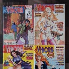 Cómics: EL VIBORA. LOTE DE 4 NUMEROS (111, 159, 170 Y 171) EDICIONES LA CUPULA 1989. Lote 104981995