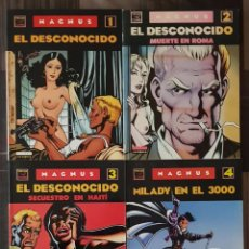 Cómics: MAGNUS. COLECCIÓN COMPLETA DE 4 COMICS. EDICIONES LA CUPULA 1990. Lote 104983227