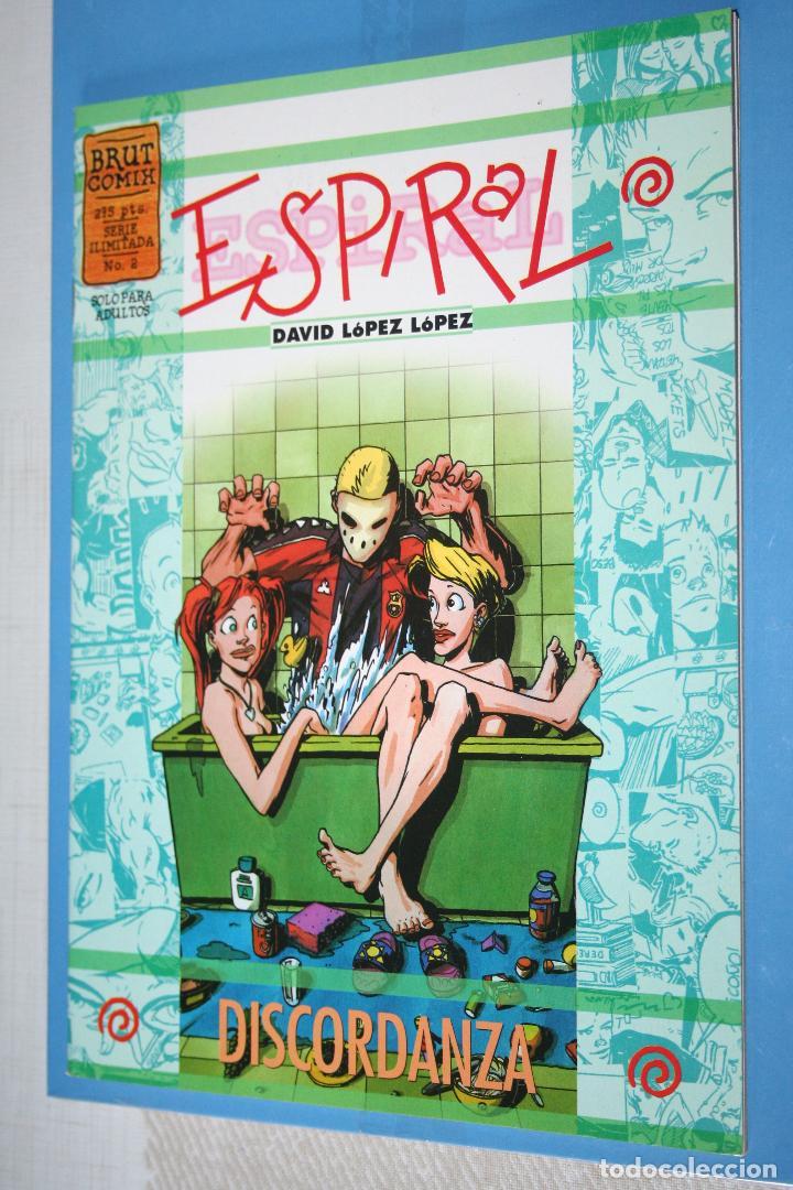DISCORDANZA *** ESPIRAL (COLECCION BRUT COMIX Nº 2) *** EDICIONES LA CÚPULA (1998) (Tebeos y Comics - La Cúpula - Autores Españoles)