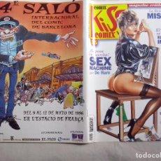 Cómics: TEBEOS Y COMICS: KISS COMIX - Nº 55 - MAGAZINE ERÓTICO ADULTOS (ABLN). Lote 152396632