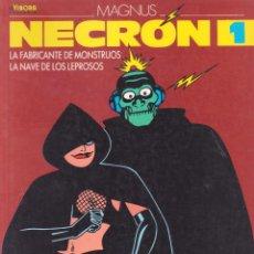 Cómics: MAGNUS -- NECRON 1-2-3-4-5-6-7. Lote 105771835