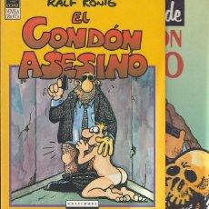 Cómics: EL CONDÓN ASESINO + EL RETORNO DEL CONDÓN ASESINO - 1ª ED. 1991. Lote 106078595