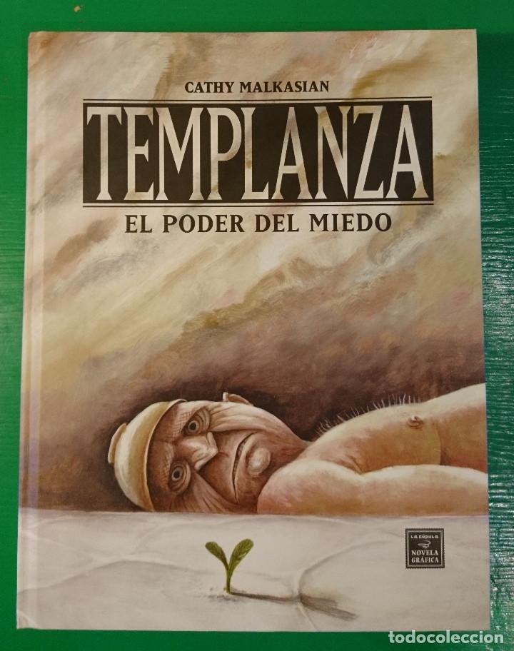 TEMPLANZA. EL PODERO DEL MIEDO, DE CATHY MALKASIAN (Tebeos y Comics - La Cúpula - Comic USA)