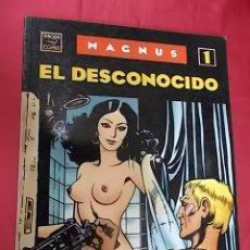 Cómics: MAGNUS. Nº 1. EL DESCONOCIDO. EDICIONES LA CUPULA.. Lote 108673543
