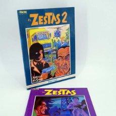 Cómics: EL ZESTAS 1 Y 2 COMPLETA (MURILLO / RESANO) LA CÚPULA, 1999. OFRT. Lote 146420386