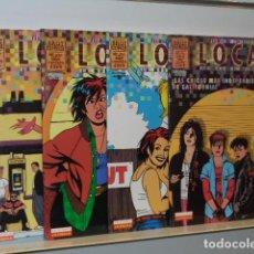 Cómics: LOCAS LA MUERTE DE SPEEDY COMPLETA 4 NUMEROS JAIME HERNANDEZ - BRUT COMIX LA CUPULA -. Lote 109297723