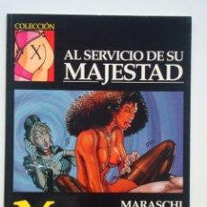 Cómics: COLECCIÓN X Nº 95 AL SERVICIO DE SU MAJESTAD (MARASCHI). Lote 109379919