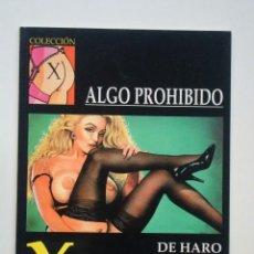 Cómics: COLECCIÓN X Nº 80 ALGO PROHIBIDO (DE HARO). Lote 109380539