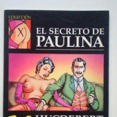 Cómics: COLECCIÓN X Nº 68 EL SECRETO DE PAULINA (HUGDEBERT). Lote 109380847