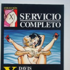 Cómics: COLECCIÓN X Nº 51 SERVICIO COMPLETO (DAVIS). Lote 109381223