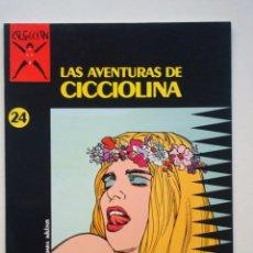 Cómics: COLECCIÓN X Nº 24 LAS AVENTURAS DE CICCIOLINA (FILIPUCCI ROMANINI UBALDI). Lote 109382883