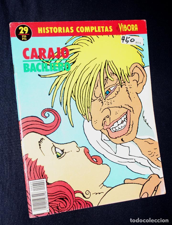 CARAJO ( DE PAOLO BACILIERO).HISTORIAS COMPLETAS DE EL VIBORA Nº29 (Tebeos y Comics - La Cúpula - El Víbora)