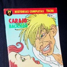 Cómics: CARAJO ( DE PAOLO BACILIERO).HISTORIAS COMPLETAS DE EL VIBORA Nº29. Lote 109392919