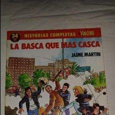 Cómics: HISTORIAS COMPLETAS EL VIBORA Nº 34 EDICIONES LA CUPULA ESTADO BUENO . Lote 109999987