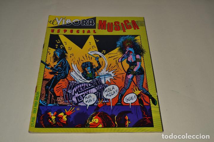 ESPECIAL MUSICA EL VIBORA (Tebeos y Comics - La Cúpula - El Víbora)