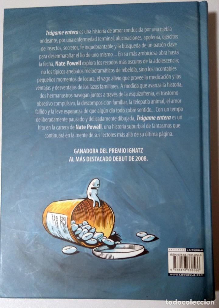 Cómics: Tragame entera. Nate Powell. La Cupula novela grafica. 2009 - Foto 2 - 112007251