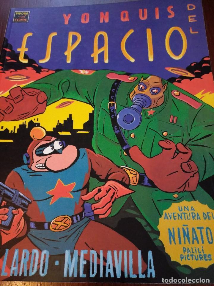 YONQUIS DEL ESPACIO. GALLARDO&MEDIAVILLA (Tebeos y Comics - La Cúpula - Autores Españoles)