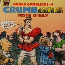 Cómics: OBRAS COMPLETAS CRUMB. Lote 112326491