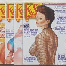 Cómics: KISS COMIX #52 A 54, 57 (LA CÚPULA, 1996). Lote 112802627