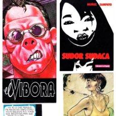 Cómics: 5 TARJETAS POSTALES Y 4 PROMOCIONALES EDICIONES LA CUPULA. Lote 112898359
