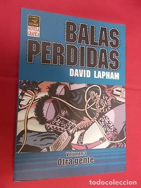 BALAS PERDIDA. VOLUMEN 3. OTRA GENTE. LA CÚPULA. (Tebeos y Comics - La Cúpula - Comic USA)