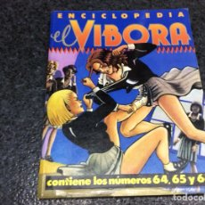 Comics: TOMO RECOPILATORIO - EL VIBORA - Nº 64,65,66. Lote 113086847