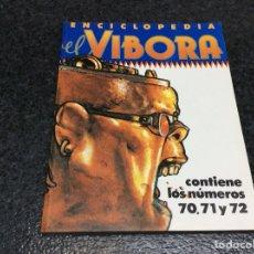 Cómics: TOMO RECOPILATORIO - EL VIBORA - Nº 70,71,72. Lote 113086943