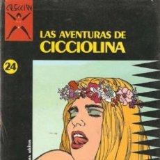 Comics : LAS AVENTURAS DE CICCIOLINA - COLECCION X Nº 24 - LA CUPULA - MUY BUEN ESTADO - C04. Lote 114678795