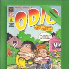 Cómics: ODIO - ¡MIEDO Y ASCO EN NEW - YERSEY! - VOL. 6 - PETER BAGGE - 2002 - 1ª EDICIÓN - NUEVO.. Lote 114904379